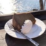 シャーレ水ヶ浜 - ケーキの味は家庭的なもの。特別ではないけど、ロケーション自体がごちそう♡