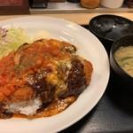 松乃家 - 洋風ささみかつ丼