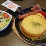 元町珈琲 - フレンチトーストモーニングセット