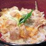 とり焼一 - 親子丼(ハーフ)
