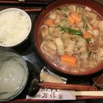 麺坊 万作 - 料理写真:しっぽく定食 2018.10.28