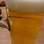 ととがなし - 冷えた生ビール