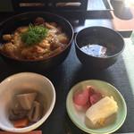 山本屋 - 料理写真:板そば丼 ¥900