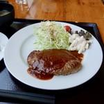 100456605 - [2018/12]宗谷牛ハンバーグ定食(1000円)