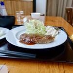 100456609 - [2018/12]宗谷牛ハンバーグ定食(1000円)