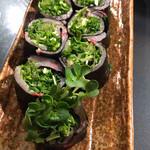 麺や すずらん亭 - 寒ブリの刺身