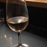 麺や すずらん亭 - 白ワイン