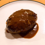 麺や すずらん亭 - ハンバーグ