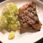 麺や すずらん亭 - レアステーキ