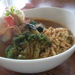 100460116 - 【オリジナルスープカレー(キーマ野菜)】980円