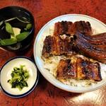 100460376 - 中詰丼(吸物、香の物)