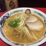だるま軒 - みそラーメン730円