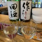 立呑み「最」 - 田酒¥600・作¥650♡