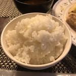 ちかさんの手料理 - ご飯