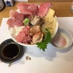 100470037 - あじわい丼(1200)