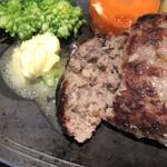 ステーキはうす 珍や - 肉感たっぷり