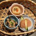 博多華味鳥 - 前菜3種