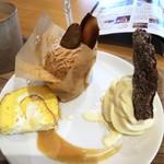 リッチフィールド - 料理写真:モンブランのケーキセット