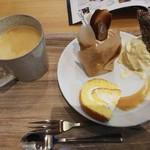 リッチフィールド - モンブランのケーキセット