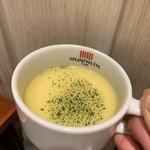 ムーミンハウスカフェ - ランチプレートのコンーンスープ