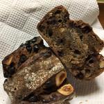 パンやきどころ RIKI - チョコとマロングラッセとヘーゼルナッツがザクザク!