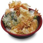 福天丼 - 丼物はすべてお持ち帰りできます。北海天丼弁当637円。