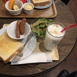 ミッツコーヒースタンド - Bセット キャラメルミルク