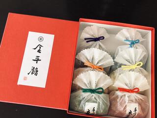 緑寿庵清水 - 可愛らしい小袋に入っているので、お土産にもぴったりです(о´∀`о)