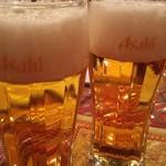 RAJU - ビール(ホンマはキングフィッシャー頼んだけど)