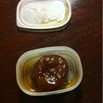 10049599 - なんと、お土産まで頂き…                       イチジクの水飴煮?かな。