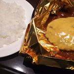 グリルキャピタル東洋亭 - チーズハンバーグステーキ