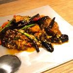 中国菜 四合院凛丹 - 牡蠣と茄子