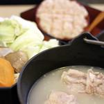 焼鳥和食 鳥屋 寿 中目黒 - 博多濃厚水炊き
