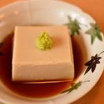 手打うどん麦や - 胡麻豆腐