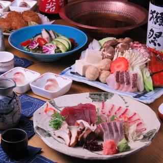 鹿児島、島根より空輸の鮮魚