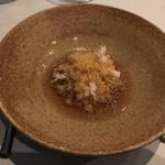 Quay Restaurant - 料理写真:「イカとウニのスープ仕立」           まるでお茶漬けのよう