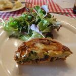 フランス料理遊心 - 本日のオードブル キッシュ・ア・ラ・メゾン