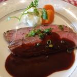 フランス料理遊心 - 肉料理 サーロインローストビーフ