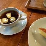 拓坊 - 料理写真:オレンジケーキとコーヒー