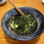 日本酒原価酒蔵 - 濃厚青のり豆腐