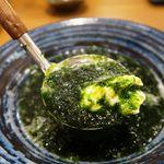 日本酒原価酒蔵 - 濃厚青のり豆腐はさすが人気NO1!ガチでおすすめ!これだけでも延々と呑める!!