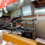 新吉家 - 厨房です