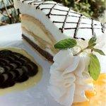 イングリッシュガーデン・ローズカフェ - シューバナナケーキ
