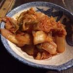 焼鳥 弁慶 - キムチ