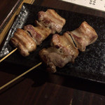 焼鳥 弁慶 - 豚バラ