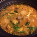 焼鳥 弁慶 - キムチバラ豆腐