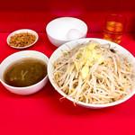 ラーメン二郎 - SS野菜マシ