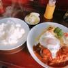 可亭 - 料理写真:ハンバーグ定食。