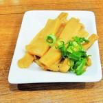 池田麺彩 - メンマ追加トッピング