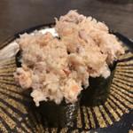 鮨いちもん - 料理写真:海鮮サラダ軍艦